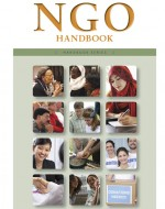 NGO Handbook cover shows examples of nongovernmental organizations worldwide.