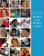 Global Women's Issues: Women in the World Today front cover depicts women leaders and issues that women face in today's world.