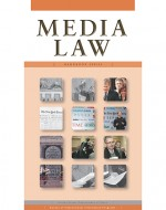 Cover image of Media Law publication of the Handbook Series