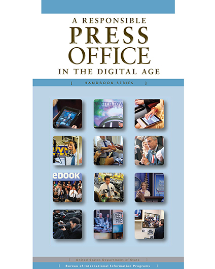 A Responsible Press Office in the Digital Age—Handbook Series