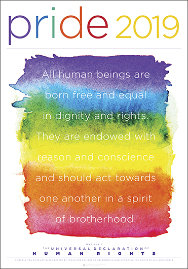 Pride 2019—The Universal Declaration of Human Rights