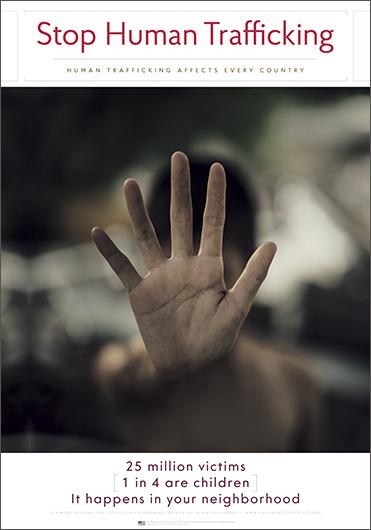 Stop Human Trafficking—It's modern slavery