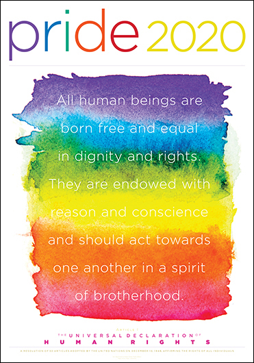 Pride 2020—The Universal Declaration of Human Rights